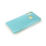 Силиконовый чехол Huawei Y6 2019 Silicone case утолщенный, без логотипа, бирюзовый