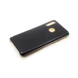 Силиконовый чехол Xiaomi Mi9 Lite Silicone case утолщенный, без логотипа, черный