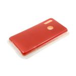 Силиконовый чехол Huawei Honor 10i Silicone case утолщенный, без логотипа, красный