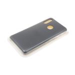Силиконовый чехол Huawei Honor 10i Silicone case утолщенный, без логотипа, серый