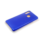 Силиконовый чехол Huawei Honor 10i Silicone case утолщенный, без логотипа, синий