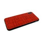 Задняя крышка Huawei Honor 9 Lite  кирпичная стена, красная