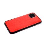 Задняя крышка Xiaomi Redmi Note 8T однотонное битое стекло без лого, красная