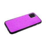 Задняя крышка Xiaomi Redmi Note 8T однотонное битое стекло без лого, нежно-розовая