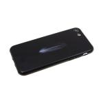 Задняя крышка Huawei Honor 9 Lite  Парный рисунок, перо черное