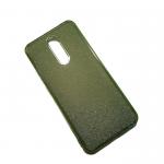 Силиконовый чехол Xiaomi Redmi 8 поверхность из мелких бусинок, салатовый