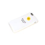 Силиконовый чехол Iphone 12 Pro (6.1) Silicon Case, белый в блистере