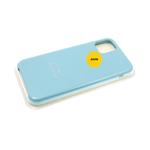 Силиконовый чехол Iphone 12 Pro (6.1) Silicon Case, бирюзовый в блистере