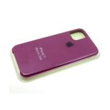 Силиконовый чехол Iphone 5/5S Silicon Case фуксия в блистере