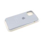 Силиконовый чехол Iphone 12 Pro (6.1) Silicon Case, светло-серый в блистере