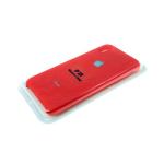 Силиконовый чехол Iphone 5/5S Silicone Case, красный в блистере