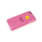 Силиконовый чехол Iphone 12 Pro (6.1) Silicone Case, малиновый в блистере