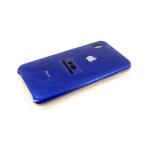 Силиконовый чехол Iphone 7 Plus/8 Plus Silicone case в блистере без логотипа, синий