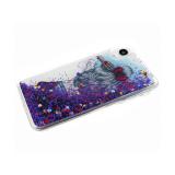 Силиконовый чехол Iphone XS Max 6.5 яркий рисунок с жидкими блестками, рис.15