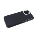 Силиконовый чехол блестящий 3в1 для Huawei Honor 9a черный