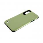 Силиконовый чехол Samsung Galaxy A51 гладкий противоударный, темно-зеленый