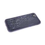 Силиконовый чехол Huawei Honor 10 Lite однотонная переливашка, черный