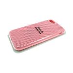 Силиконовый чехол Xiaomi Redmi 7a Silicon Case перфорированный. в блистере розовый