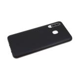 Силиконовый чехол Samsung Galaxy A51 Hoco matte, в тех.уп., черный
