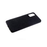 Силиконовый чехол Xiaomi Redmi Note 8T Тканевый 3Д камера, черный