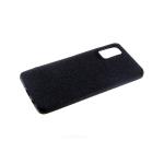 Силиконовый чехол Xiaomi Redmi 7a Тканевый 3Д камера, черный