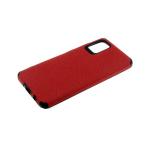 Силиконовый чехол Xiaomi Redmi 7a Тканевый 3Д камера, красный