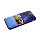Задняя крышка Xiaomi Redmi Note 7 мультяшный рисунок, пластик, две совы в шапках