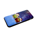 Задняя крышка Xiaomi Redmi 7 мультяшный рисунок, пластик, две совы в шапках