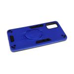Задняя крышка Huawei Honor 9s противоударная, трансформер, с подставкой, синий