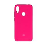 Силиконовый чехол Silicon Cover для Xiaomi Mi 10T Pro с логотипом, улучшенное качество, розовый