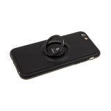 Силиконовый чехол Xiaomi Redmi Note 7 тактильный iFace, черный
