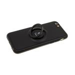 Силиконовый чехол Samsung Galaxy A41 тактильный iFace, черный
