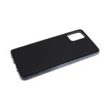 Силиконовый чехол Huawei Y5 2018 с блестящей окантовкой, без лого, цвет металик, черный