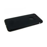 Силиконовый чехол Huawei Mate 20 Lite Baseus mate с глянцевой окантовкой, черное