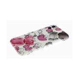 Силиконовый чехол Huawei Honor 9c цветной, яркие рисунки, розово-серый человек