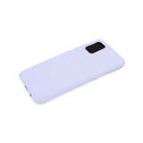 Силиконовый чехол Huawei Honor 9X матовый, однотонный soft-touch, бархат внутри, сиреневый
