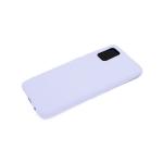 Силиконовый чехол Xiaomi Redmi 9a матовый, однотонный soft-touch, бархат внутри, сиреневый