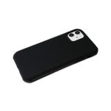 Задняя крышка Iphone 7/8 однотонная, транформер, антишок углы, черная