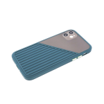 Силиконовый чехол Samsung Galaxy A01 core сил+плас, цветные кнопки, тактильные полосы, т-зеленый