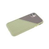 Силиконовый чехол Samsung Galaxy A01 core сил+плас, цветные кнопки, тактильные полосы, зеленый