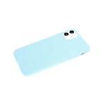Силиконовый чехол Samsung Galaxy A02 2021 Soft touch матовый без лого, бирюзовый