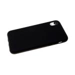Силиконовый чехол Xiaomi Mi Note 10 Lite Soft touch матовый без лого, черный