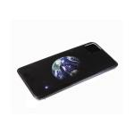 Задняя крышка Huawei Y6p 2020 яркий принт, прозрачный борт, планета