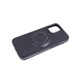 Силиконовый чехол Huawei Honor 9c/P 40 Lite E магнитное кольцо держатель, мелкие полоски, черный