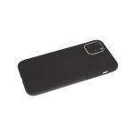 Силиконовый чехол Xiaomi Redmi 9 однотонный, soft touch, черный