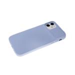 Силиконовый чехол Xiaomi Redmi 9c ребристый, свап-защита камеры, голубой