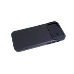 Силиконовый чехол Xiaomi Redmi 9a свап-камера, мелкие полосы, черный