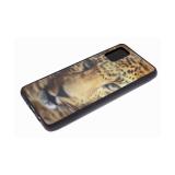 Силиконовый чехол Huawei Honor 9X Lite утолщенный, 3Д рисунок, черный борт, леопард