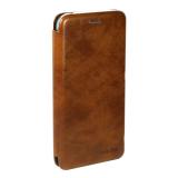 Чехол-книжка FaisON для SAMSUNG Galaxy M51, PREMIUM, CA-17, экокожа, на магните, коричневый