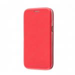 Чехол-книжка FaisON для SAMSUNG Galaxy M51, PREMIUM, CA-17, экокожа, на магните, красный